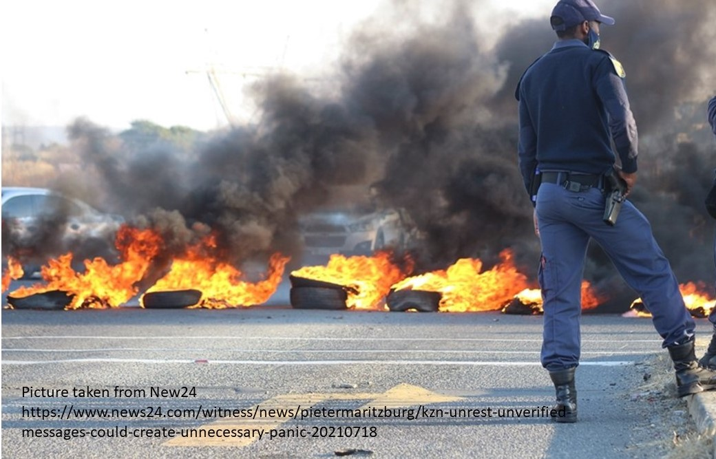 R3.75 billion relief for restoration of businesses adversely by violent looting & unrest