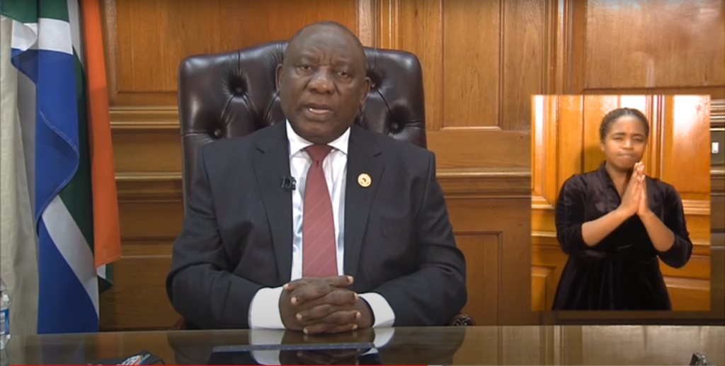 President's Message 24 May 2020